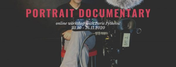 Portrait Documentary Workshop – Webinar