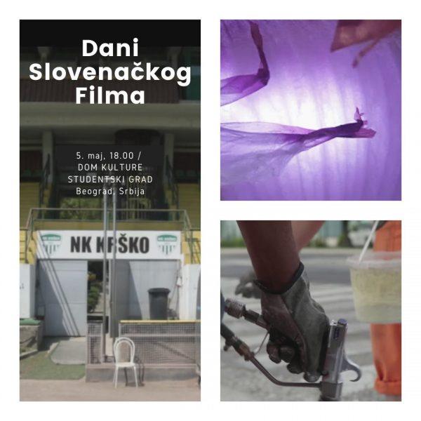 DAYS OF SLOVENIAN FILM in Beograd