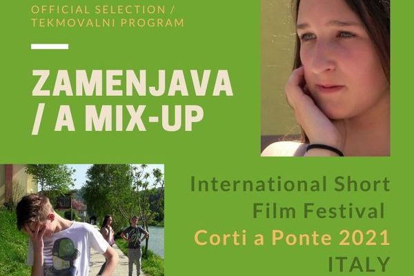"""Film """"A MIX-UP"""" at the International Short Film Festival in Italy"""