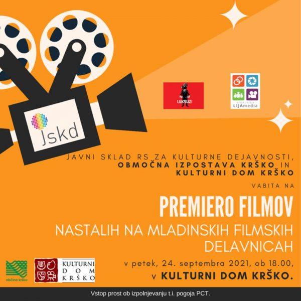 Premiera filmov nastalih na mladinski filmski delavnici v Krškem